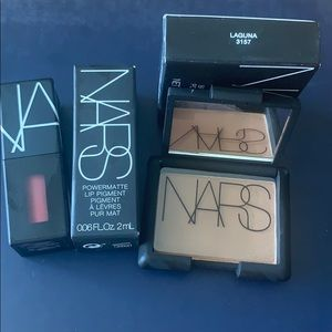 NARS lip and bronzer duo